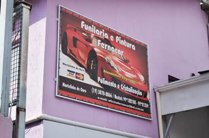 Fachada Fernacar Louveira